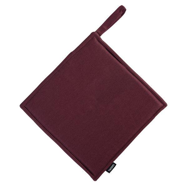 Прихватка бордового цвета из коллекции Wild, 22х22 см TK19-PH0005