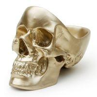Органайзер для мелочей Skull, золотой SK TIDYSKULL3