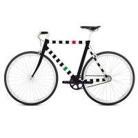 Наклейка на раму велосипеда Racing RK07