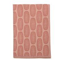 Полотенце кухонное с принтом Sketch бордового цвета из коллекции Wild, 45х70 см TK19-TT0009