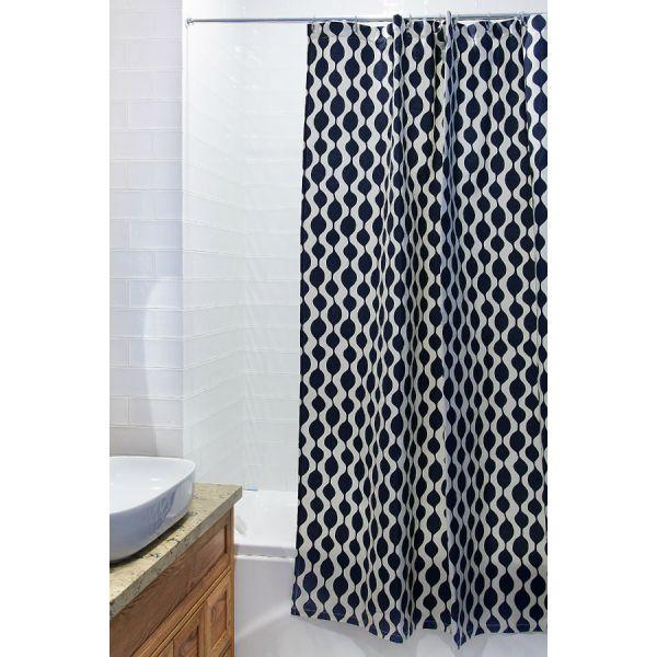 Штора для ванной Traffic Cuts&Pieces, 180х200 см TK18-SC0005