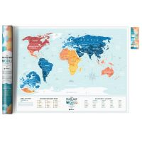 Карта Travel Map Holiday Lagoon World 4820191130524