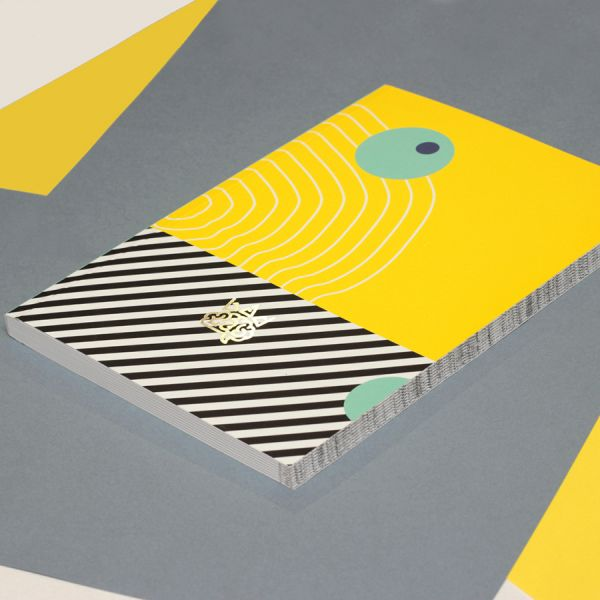 Блокнот Memphis - ripple формат А5 0213