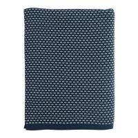 Плед из хлопка фактурной вязки Essential, 130х180 см TK18-TH0004