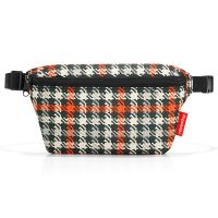Сумка поясная beltbag S glencheck red WX3068
