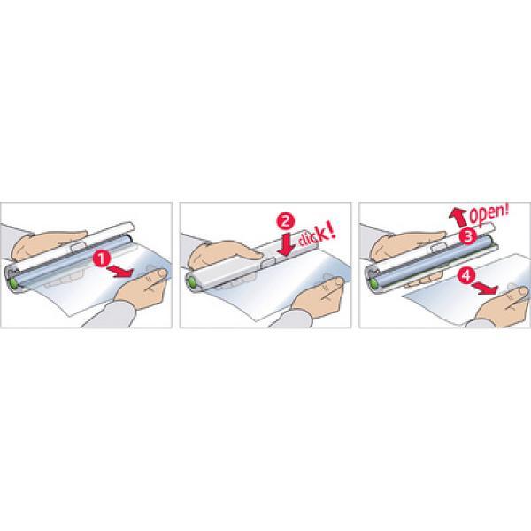 Диспенсер для плёнки и фольги Clic&Cut 33 см красный 3100508020