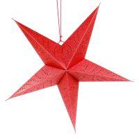 Светильник подвесной EnjoyMe Star с кабелем 3,5 м цвет красный en_ny0062