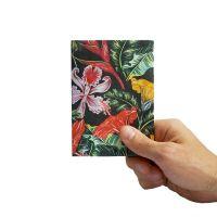 Обложка на паспорт New Tropic, цветы NС-026