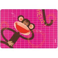 Коврик сервировочный детский Hello обезьяна 22606652M