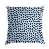 Чехол для подушки из хлопка с принтом Funky dots, серо-голубой Cuts&Pieces, 45х45 см TK18-CC0013