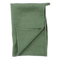 Кухонное полотенце Essential 47x70 см вафельное из умягченного льна мятного цвета TK18-TT0006
