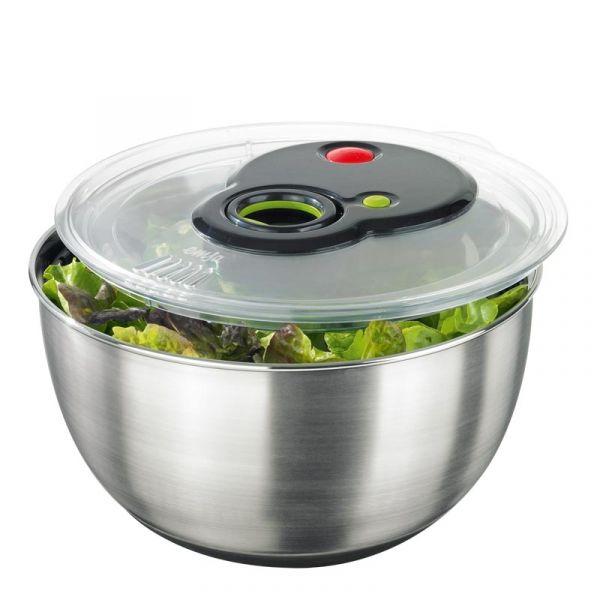Сушилка для салата 4,5 л Emsa TURBOLINE из нержавеющей стали 3100513441