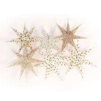 Набор декоративных елочных украшений Stars 6 шт en_ny0068