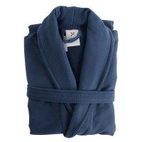 Халат банный темно-синего цвета Essential S/M TK18-BR0009