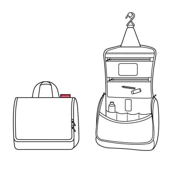 Сумка-органайзер Toiletbag glencheck red WH3068