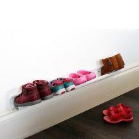 Полка для детской обуви Shoe rack 70 см белая jme-80