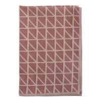 Полотенце кухонное Twist с принтом бордового цвета TK18-TT0008