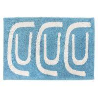 Коврик для ванной Go round голубого цвета TK18-BM0002