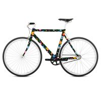 Наклейка на раму велосипеда Floretta RK04