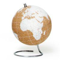 Глобус Cork Globe, белый, Ø14 см SK CORKGLOBE6