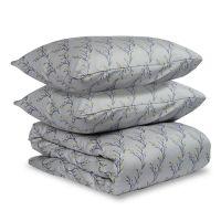 Комплект постельного белья двуспальный из сатина с принтом 'Соцветие' из коллекции Essential TK19-DC0021