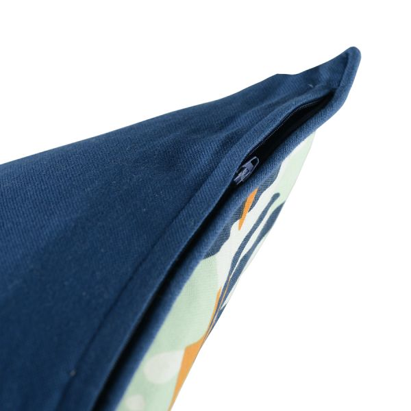 Чехол для подушки с дизайнерским принтом Leaves из коллекции Wild, 45х45 см TK19-CC0002