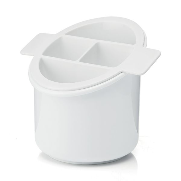 Сушилка для столовых приборов forme casa classic белая 01345611