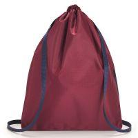 Рюкзак складной Mini Maxi Sacpack Dark Ruby AU3035