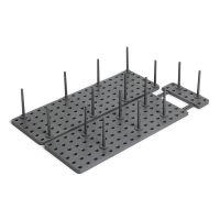 Органайзер для посуды и столовых приборов Peggy серый 1004318-149