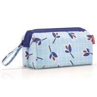 Косметичка Travelcosmetic leaves blue WC4064