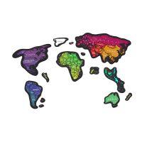 Скретч карта мира Travel Map Magnetic World MG