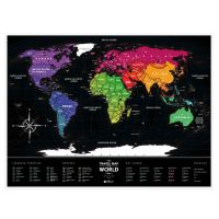 Карта Travel Map Black World 4820191130074