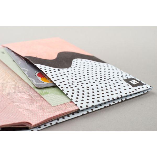 Обложка на паспорт  NEW WALLET - New Sweetdream; сделан из Tyvek® NC-127