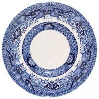 Блюдце Churchill Алекс Кларк «Голубая ива» 14 см WBMBTSM2