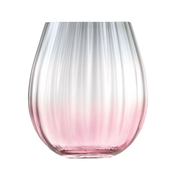 Набор из 2 тумблеров Dusk 425 мл розовый-серый G1331-15-152