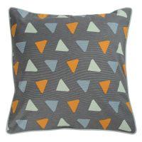Чехол для подушки с дизайнерским принтом Triangles из коллекции Wild, 45х45 см TK19-CC0006