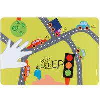 Коврик сервировочный детский On the Road зеленый 22606752GR
