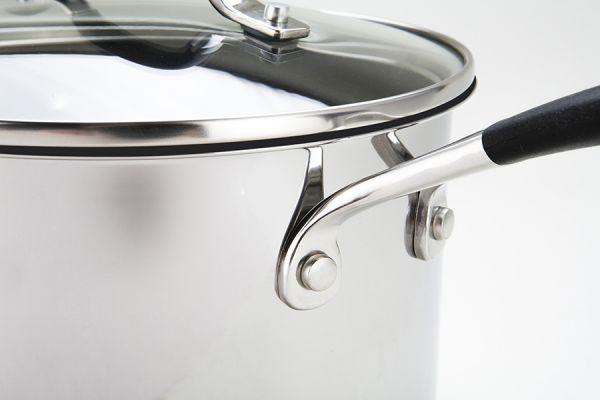 Сотейник с крышкой Momentum 3,8 л нержавеющая сталь R78060