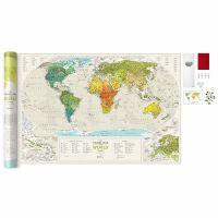 Карта Travel Map Geograghy World 4820191130296
