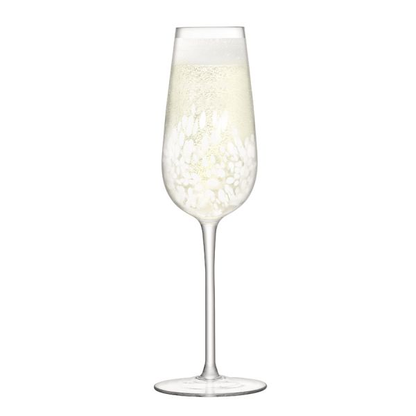Набор из 2 бокалов-флейт для шампанского Stipple 250 мл G1332-09-602