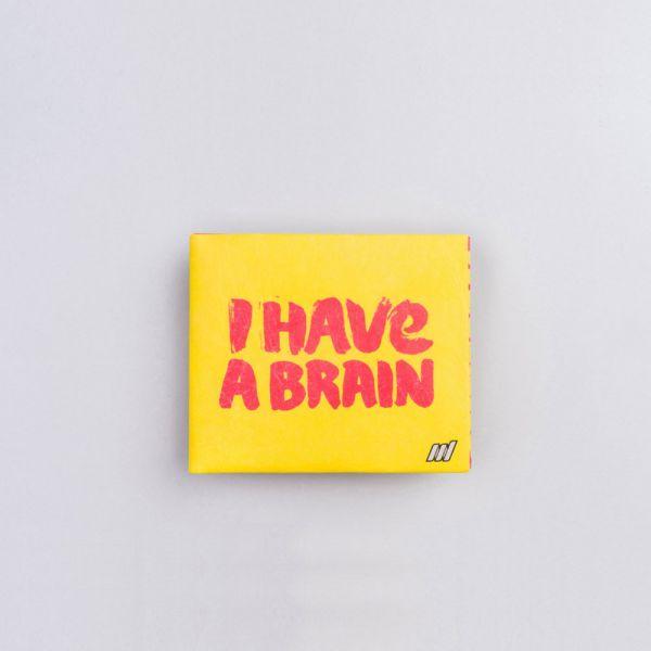 Бумажник Brain желтый NW-053