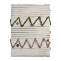 Покрывало из хлопка с бахромой из коллекции Ethnic, 230х250 см TK19-BS0008