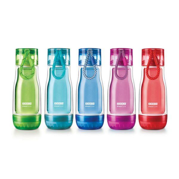 Бутылка Zoku 325 мл синяя ZK129-BL