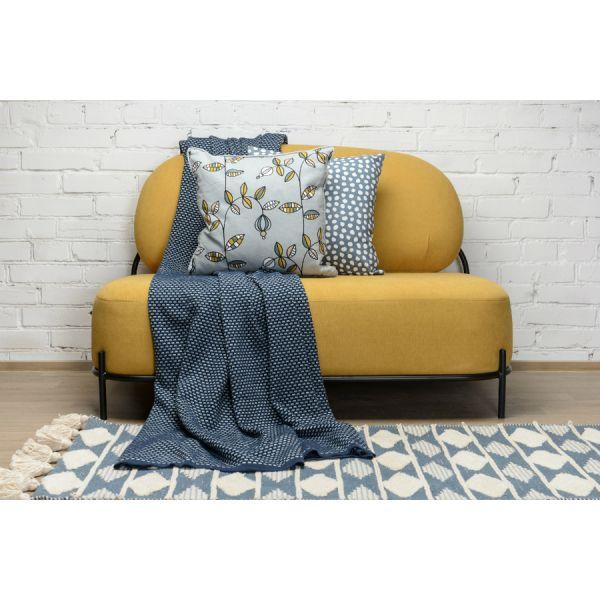 Чехол для подушки из хлопка с принтом Funky dots, темно-серый Cuts&Pieces, 45х45 см TK18-CC0012