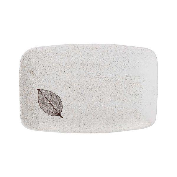 Поднос Ashdene Lantana White Stone прямоугольный 34x22x4 см 517197