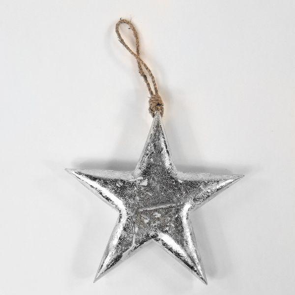 Фигурка декоративная Snow Star, подвесная, 23х23х3 см en_ny0015