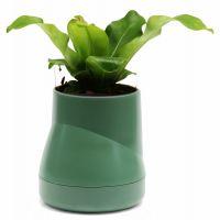 Горшок цветочный Hill pot большой зеленый QLX20002-GN