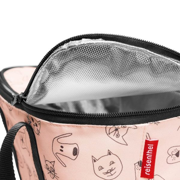 Термосумка детская Coolerbag XS cats and dogs rose UF3064