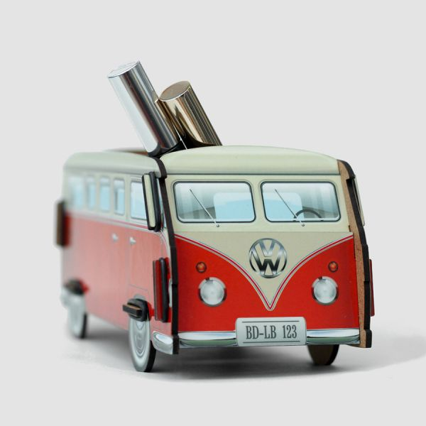 Органайзер настольный VW T1 Camper цвет красный 0006