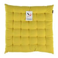 Подушка на стул горчичного цвета из коллекции Wild, 40х40 см TK19-CP0002